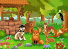 Puzzle Nivel 1: Animales | Recurso educativo 34156