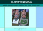 El grupo nominal | Recurso educativo 35308