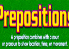 Webquest: Prepositions | Recurso educativo 35344