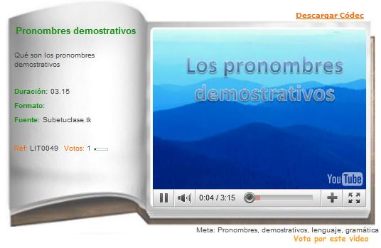 Pronombres | Recurso educativo 36351