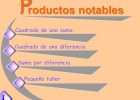 Productos notables | Recurso educativo 37329