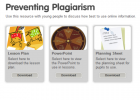 Preventing plagiarism | Recurso educativo 37645