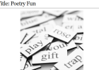Webquest: Poetry fun | Recurso educativo 37764