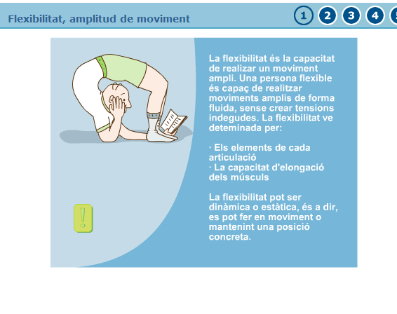 Flexibilitat, amplitud de moviment | Recurso educativo 37895