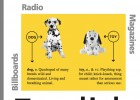 Learn with dogs: press, radio and poster advertisements | Recurso educativo 39284