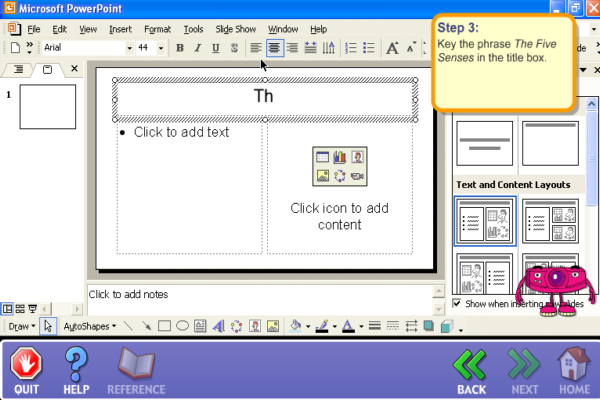 Powerpoint basics | Recurso educativo 40192