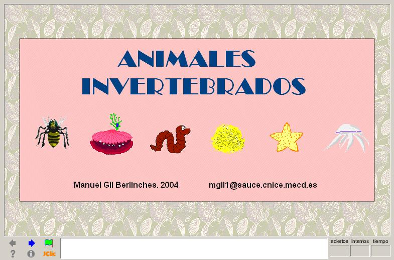 Animales invertebrados | Recurso educativo 41211