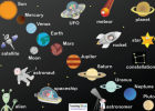 Space word mat | Recurso educativo 42189