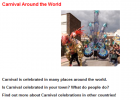 Carnival around the world | Recurso educativo 45598