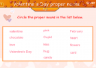 Valentine's day word fun | Recurso educativo 47467