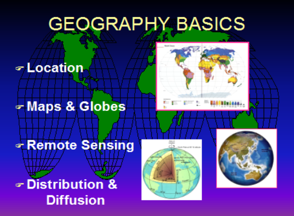 World geography | Recurso educativo 49143