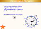 Clock time | Recurso educativo 50521