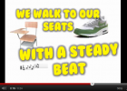 Song: We walk to our seats | Recurso educativo 50558