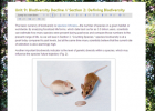 Ecology lab: Biodiversity decline | Recurso educativo 50761