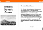 Ancient Olympic Games | Recurso educativo 54268