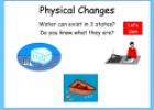 Physical changes | Recurso educativo 54851