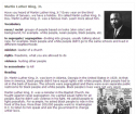 Reading activity: Martin Luther King, Jr. | Recurso educativo 56337