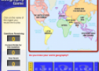 World geography game | Recurso educativo 58395