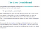 The zero conditional | Recurso educativo 61882