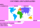 Country and Nationality | Recurso educativo 10349