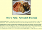 Full English Breakfast | Recurso educativo 10427