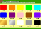 Colours | Recurso educativo 11582
