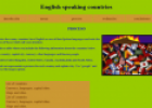 Webquest: English-speaking Countries | Recurso educativo 12938