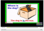 Video: Prepositions of place | Recurso educativo 13043
