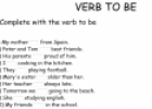 Verb to be | Recurso educativo 13245