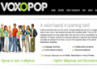 Website: Voxopop | Recurso educativo 15562