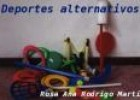 Deportes alternativos | Recurso educativo 19898