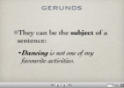 Gerund vs Infinitive | Recurso educativo 23125