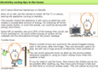 Electricity saving tips | Recurso educativo 24144