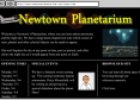 Website: Newton Planetarium | Recurso educativo 25600