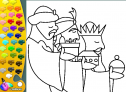 ¡A Colorear!: Los Reyes Magos | Recurso educativo 27540