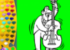 ¡A Colorear!: Violonchelo | Recurso educativo 29251