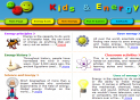 Website: Energy & Kids | Recurso educativo 29974