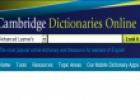 Cambridge dictionary online | Recurso educativo 31944