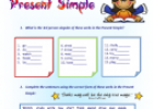 Present simple tense | Recurso educativo 61999