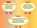 Autumn poems | Recurso educativo 6935