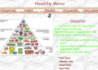 Webquest: Healthy menu | Recurso educativo 9681