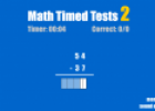 Math timed tests (2) | Recurso educativo 66844