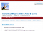 Elements of physics: Motion, force and gravity | Recurso educativo 69746
