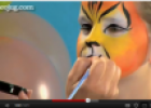 How to do face painting: The tiger | Recurso educativo 69837