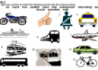 Transport worksheet | Recurso educativo 70404