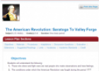 The American Revolution: Saratoga to Valley Forge | Recurso educativo 70572