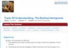 Trails of understanding: The earliest immigrants | Recurso educativo 70657