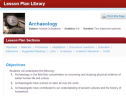 Archaeology | Recurso educativo 70710