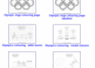 Olympics colouring pages | Recurso educativo 75446