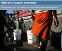 Haiti earthquake assembly | Recurso educativo 75976